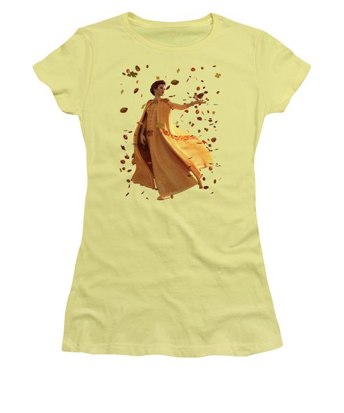 Autumn Women's T-Shirt (Junior Cut) by Methune Hively