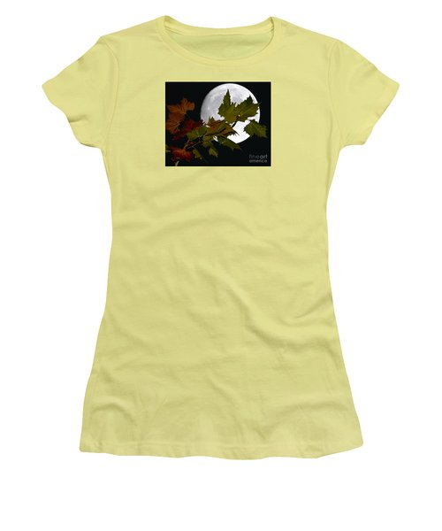 Autumn Moon Women's T-Shirt (Athletic Fit)