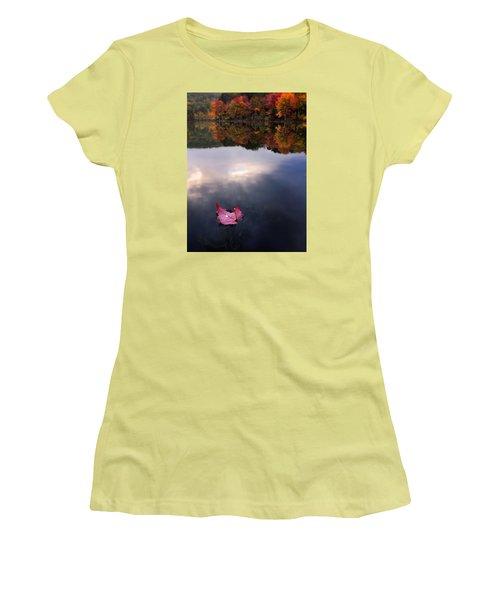 Autumn Mornings Iv Women's T-Shirt (Junior Cut) by Craig Szymanski