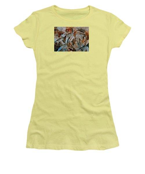 Autumn Patterns Women's T-Shirt (Athletic Fit)