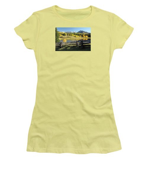 Autumn Serenade Women's T-Shirt (Junior Cut) by Eric Glaser