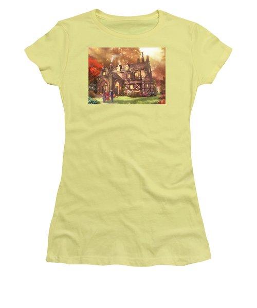 Autumnhollow Women's T-Shirt (Athletic Fit)