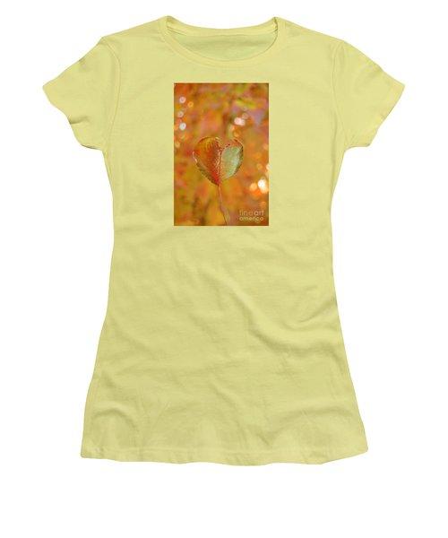 Autumn's Golden Splendor Women's T-Shirt (Junior Cut) by Debra Thompson