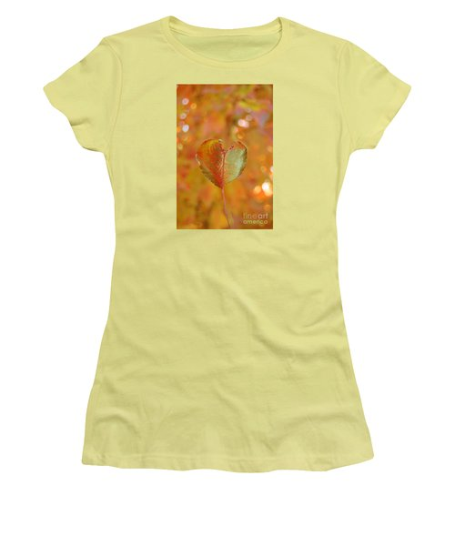 Autumn's Golden Splendor Women's T-Shirt (Athletic Fit)