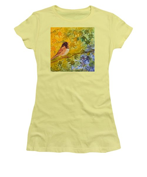 Autumn's Song Women's T-Shirt (Athletic Fit)