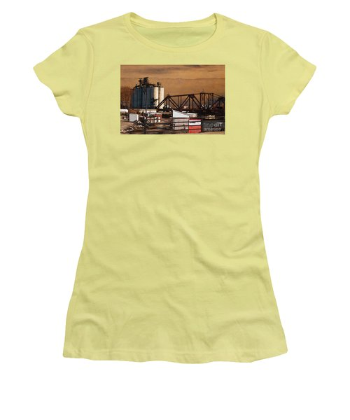 Available Women's T-Shirt (Junior Cut) by David Blank