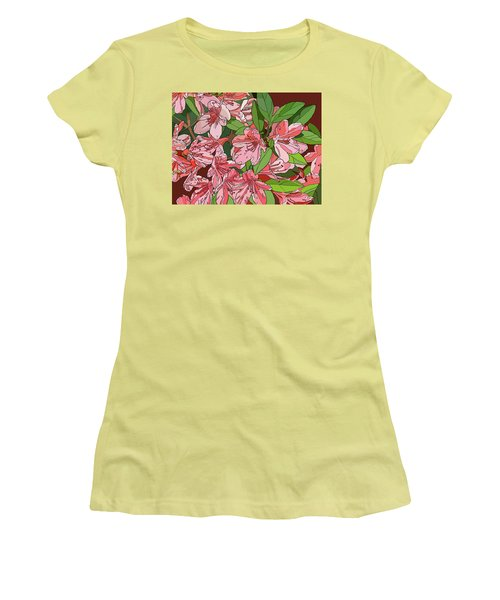 Azalea Bunch Women's T-Shirt (Athletic Fit)