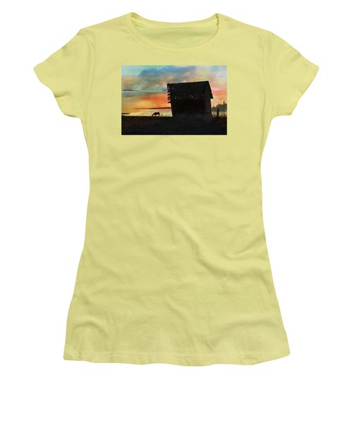 B. C. Barn # 1672 Women's T-Shirt (Athletic Fit)