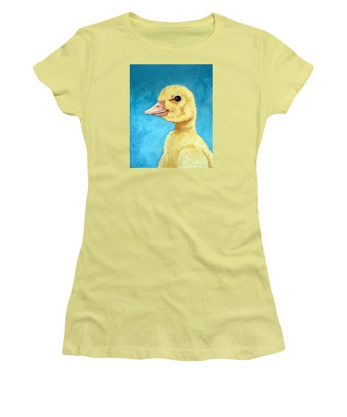 Baby Duck - Spring Duckling Women's T-Shirt (Athletic Fit)
