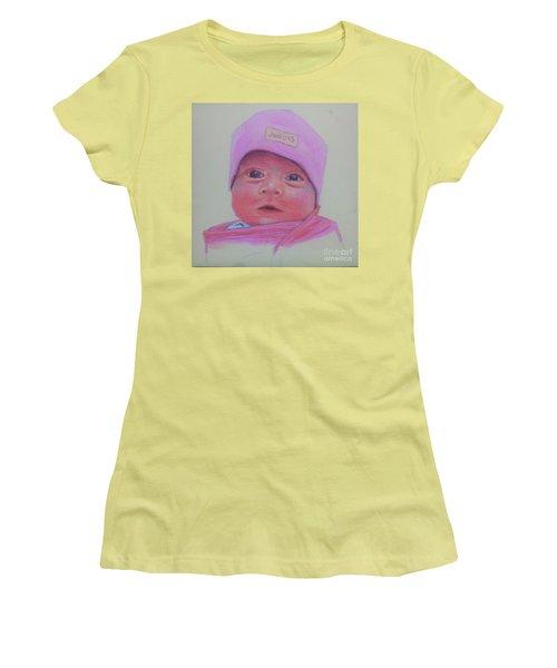 Baby Lennox Women's T-Shirt (Junior Cut) by Rae  Smith PAC
