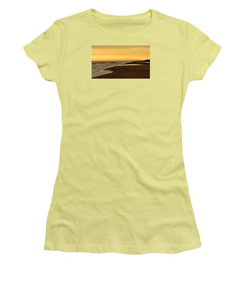 Back Bay Sunrise Women's T-Shirt (Athletic Fit)