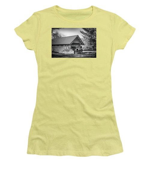 Back In The Day Women's T-Shirt (Junior Cut) by Nicki McManus