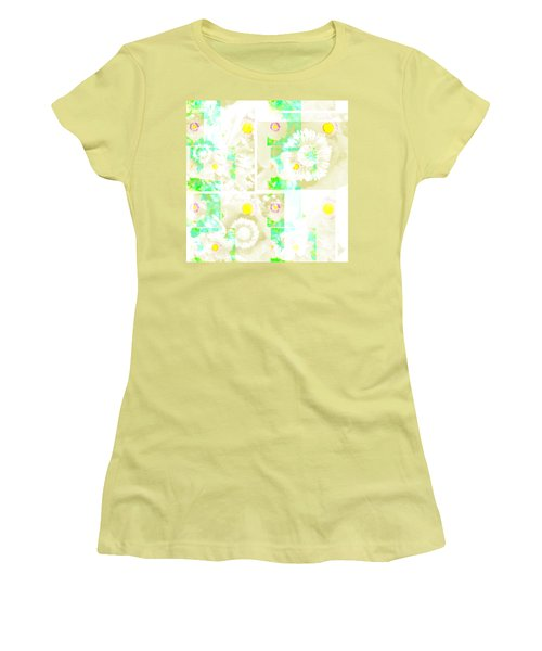 Colour Choice Poppy Collage Women's T-Shirt (Athletic Fit)