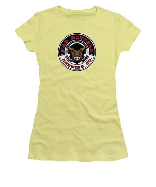 Bad Buffalo Brewing Women's T-Shirt (Athletic Fit)