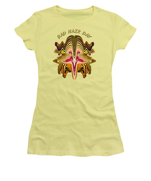 Bad Hair Day Women's T-Shirt (Athletic Fit)