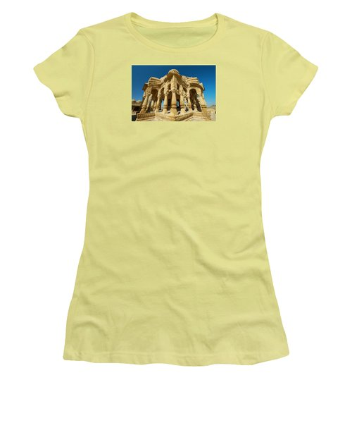 Women's T-Shirt (Athletic Fit) featuring the photograph Bada Bagh  by Yew Kwang