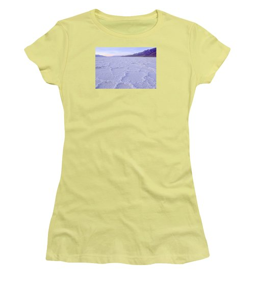 Badwater Women's T-Shirt (Athletic Fit)