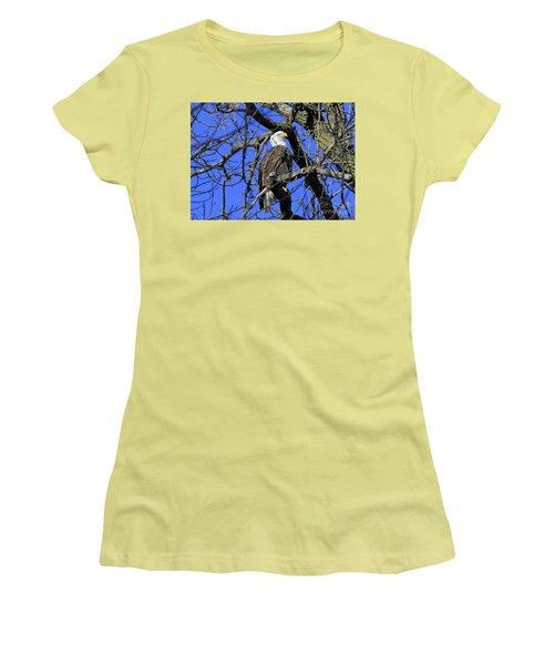 Bald Eagle Women's T-Shirt (Junior Cut)