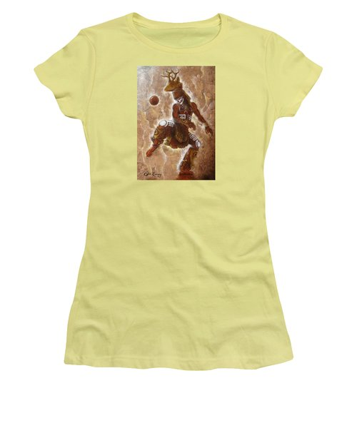 Ball Game Women's T-Shirt (Junior Cut) by J- J- Espinoza