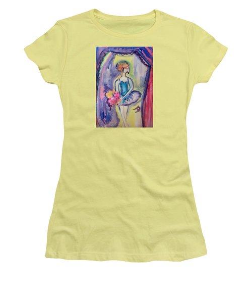 Ballerina Bouquet Women's T-Shirt (Athletic Fit)