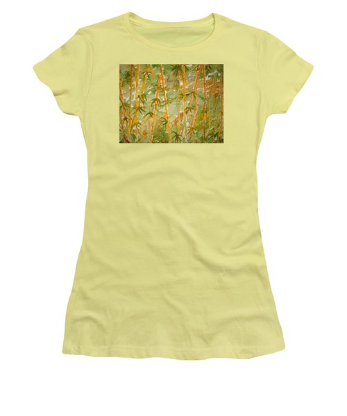 Bamboo Jungle Women's T-Shirt (Athletic Fit)