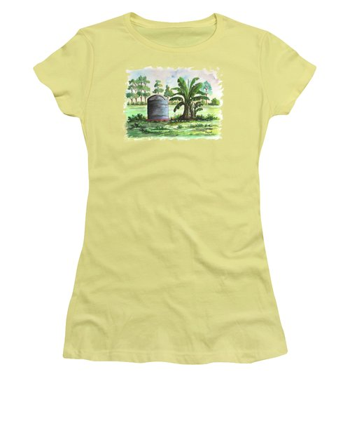 Banana And Tank Women's T-Shirt (Athletic Fit)