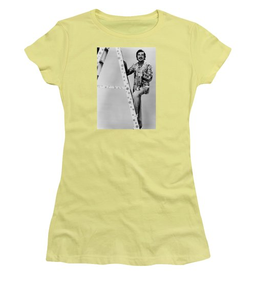 Band Leader Doc Severinson 1974 Women's T-Shirt (Junior Cut) by Mountain Dreams