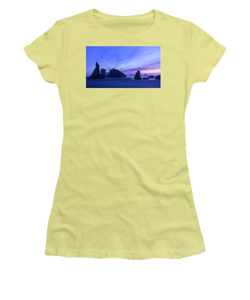 Bandon Blue Hour Women's T-Shirt (Athletic Fit)