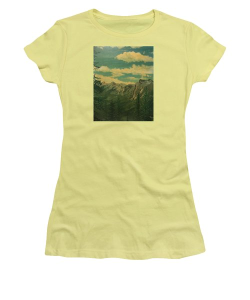 Banff Women's T-Shirt (Junior Cut) by Terry Frederick