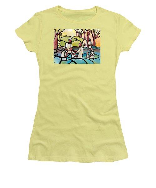 Baptism Women's T-Shirt (Athletic Fit)