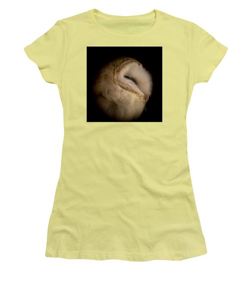 Barn Owl 6 Women's T-Shirt (Athletic Fit)