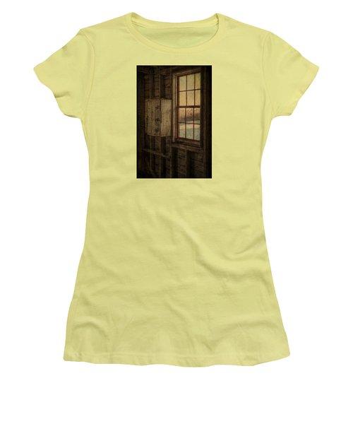 Barn Window Women's T-Shirt (Junior Cut) by Tom Singleton