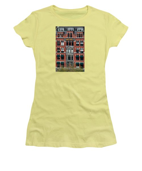 Barnes And Noble Union Square  Women's T-Shirt (Junior Cut) by Sandy Taylor
