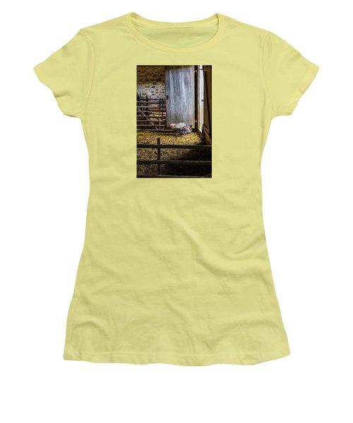 Barnyard Friends Women's T-Shirt (Athletic Fit)