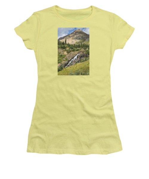 Basin Falls II Women's T-Shirt (Athletic Fit)