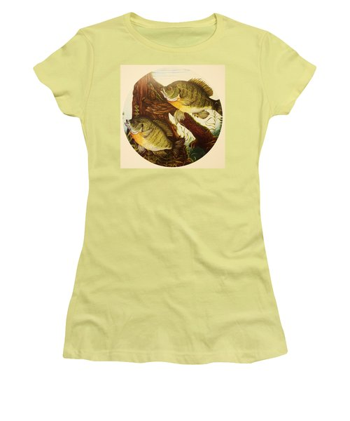 Basking Bluegills Women's T-Shirt (Athletic Fit)
