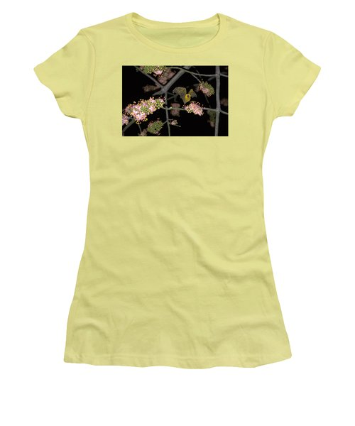 Bat Women's T-Shirt (Junior Cut) by Jim Walls PhotoArtist