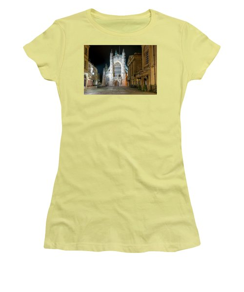 Bath Abbey Women's T-Shirt (Athletic Fit)