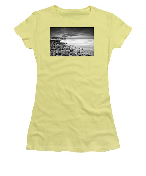 Bathe In The Winter Sun Women's T-Shirt (Junior Cut) by Edward Kreis