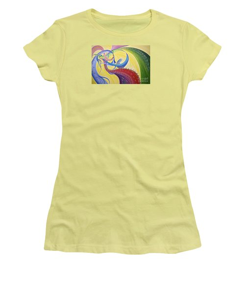 Baubles N Bows Women's T-Shirt (Junior Cut) by Nancy Cupp