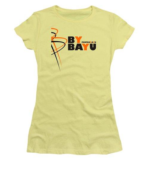 By Bayu Art Women's T-Shirt (Junior Cut) by Sheila Mcdonald