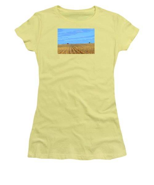Be Still And ... Women's T-Shirt (Athletic Fit)