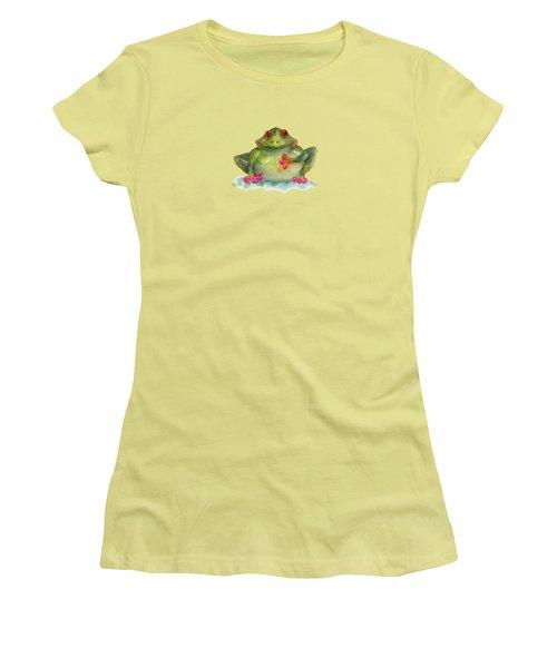 Be Still My Heart Women's T-Shirt (Junior Cut) by Amy Kirkpatrick