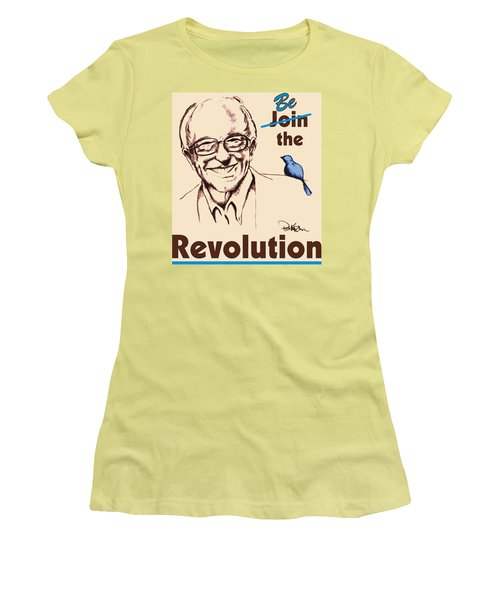 Be The Revolution Women's T-Shirt (Athletic Fit)