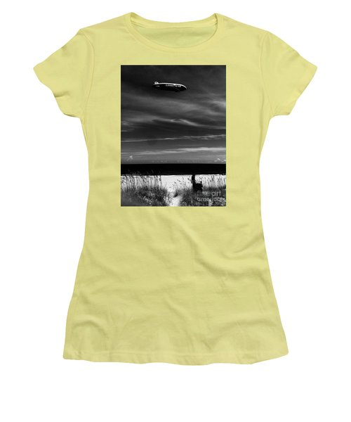 Beach Blimp Women's T-Shirt (Athletic Fit)