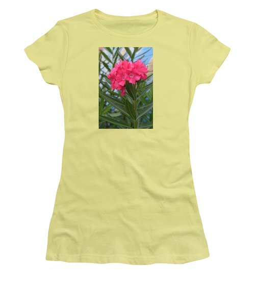 Beach Flower Women's T-Shirt (Athletic Fit)