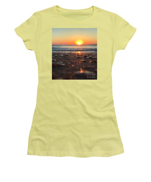 Beach Glow Women's T-Shirt (Athletic Fit)