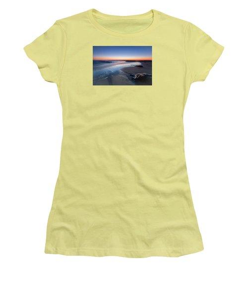 Beach View 2 Women's T-Shirt (Junior Cut) by Catherine Lau