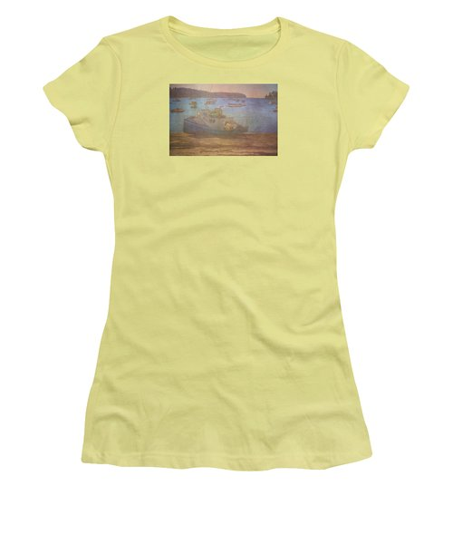 Beached For Cleaning Women's T-Shirt (Junior Cut) by Tom Singleton