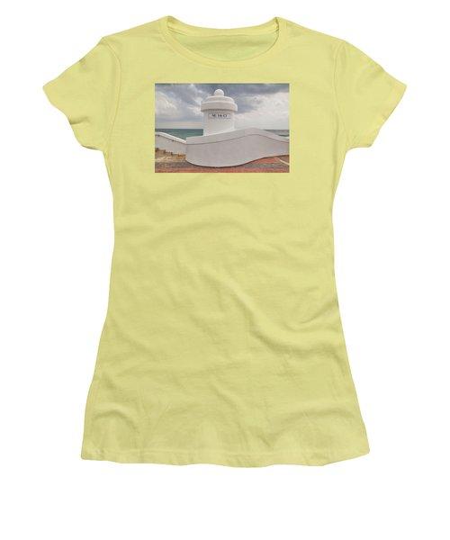 Beachscape Women's T-Shirt (Athletic Fit)